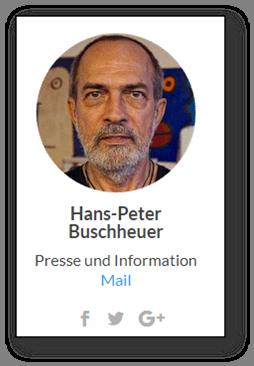 Peter Buschheuer, responsabile stampa di Sea-Eye e padre di Michael, fondatore dell'organizzazione tedesca.
