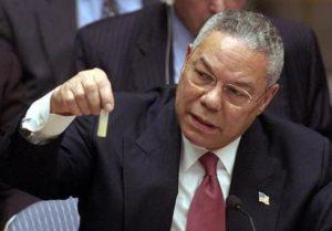 Colin Powell e le armi di Saddam
