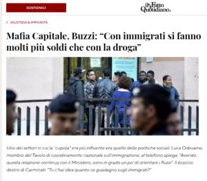 Buzzi (Mafia Capitale), con gli immigrati si fanno più soldi che con la droga