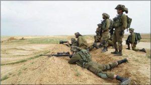 I gloriosi combattenti del popolo eletto che sparano su civili disarmati