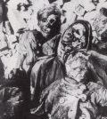 Dresda, un'intera famiglia incenerita