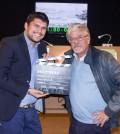 Il regista Giusepppe Alessio Nuzzo con l'attore Giancarlo Giannini