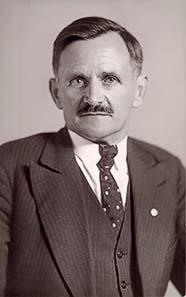 Il borgomastro Michael Unterguggenberger