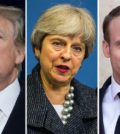 La premita ditta Trump-May-Macron