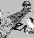 Gaza occupata da Israele